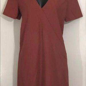 Zara burnt orange short dress